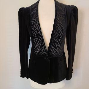 Vintage Escada Embroidered Velvet Jacket